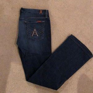 """Seven for all mankind """"a pocket"""""""